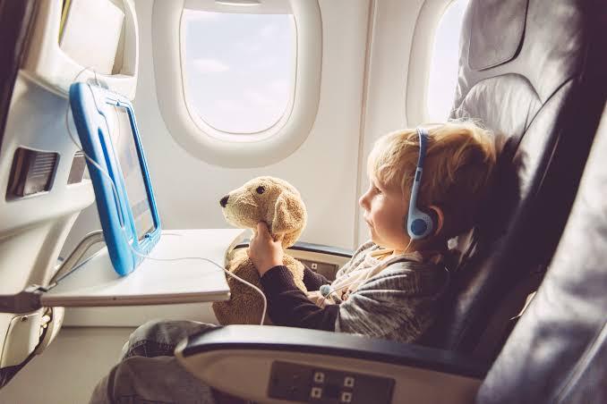 baby air travel
